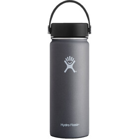 Hydro Flask Wide Mouth Flex Bottle 532ml graphite